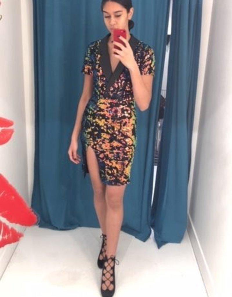 Sequin Business Dress