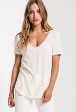 Z Supply The Cotton V Neck Tee