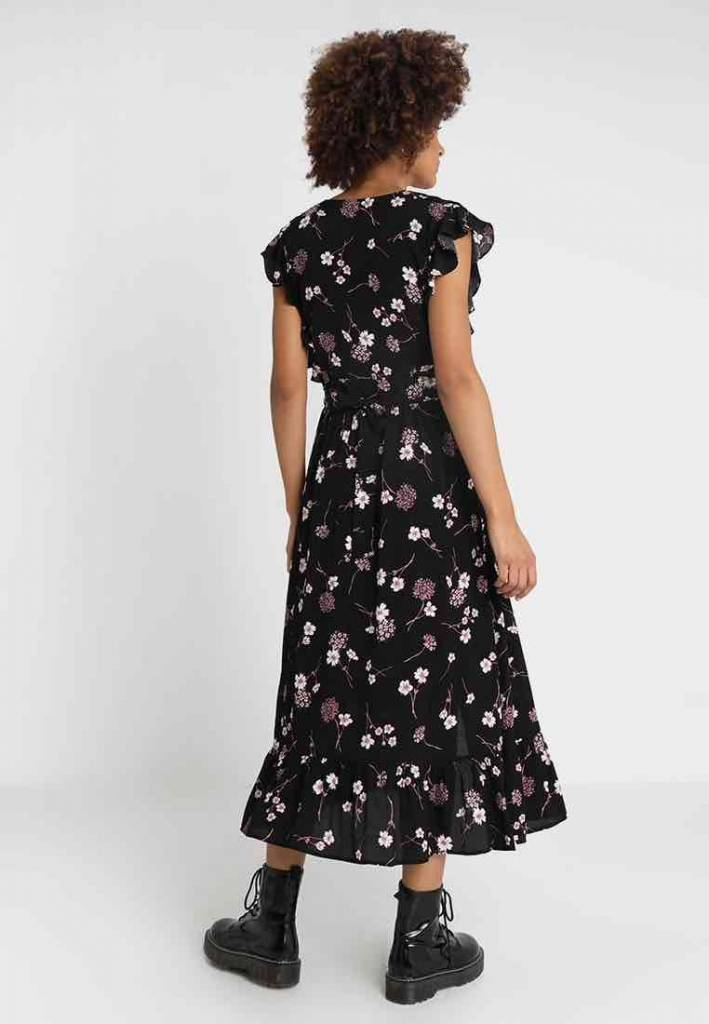 Mink Pink Night Garden Midi Dress