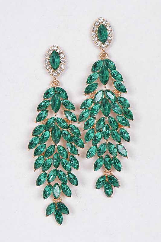 Ernest & Kelly Rhinestone Earrings