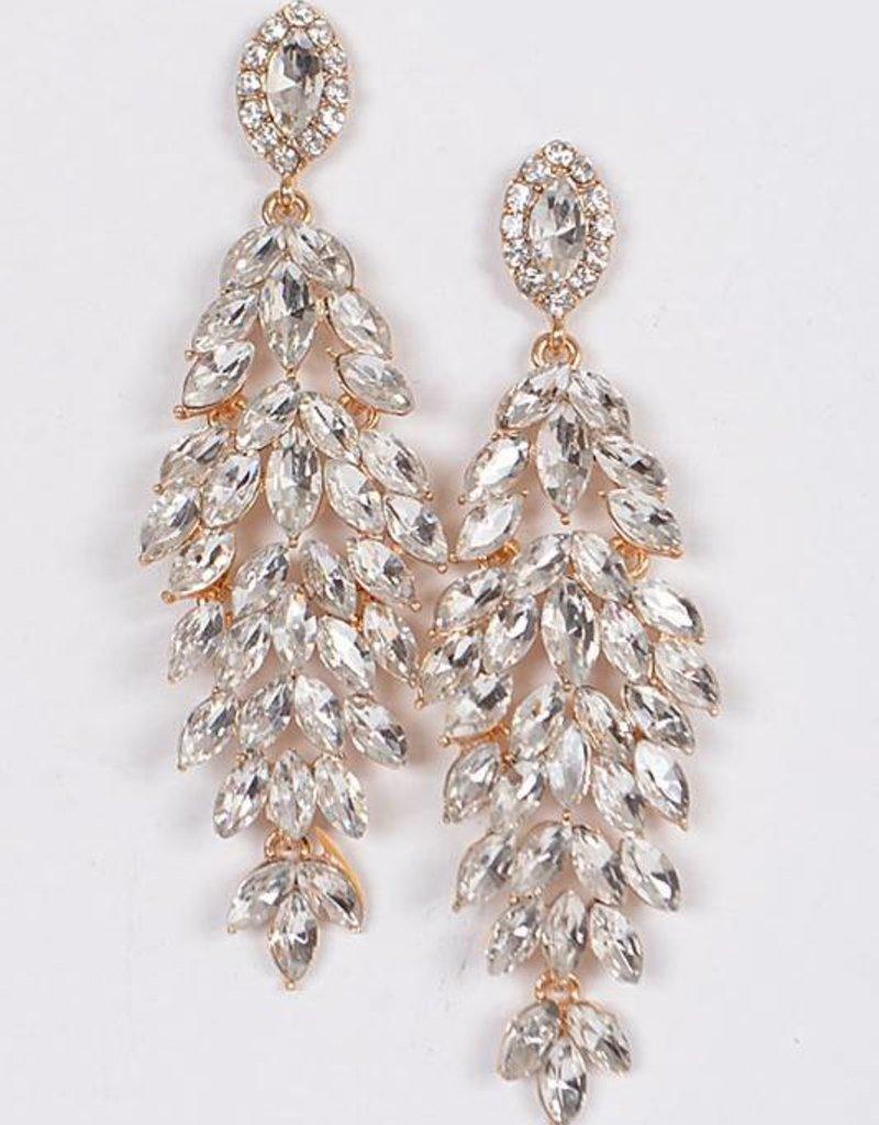 Ernest & Kelly Rhinestone Earrings