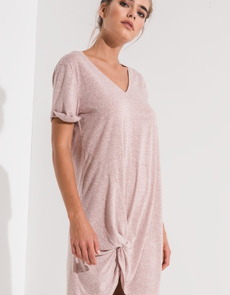 Z Supply Tri-Blend Side Knot Dress