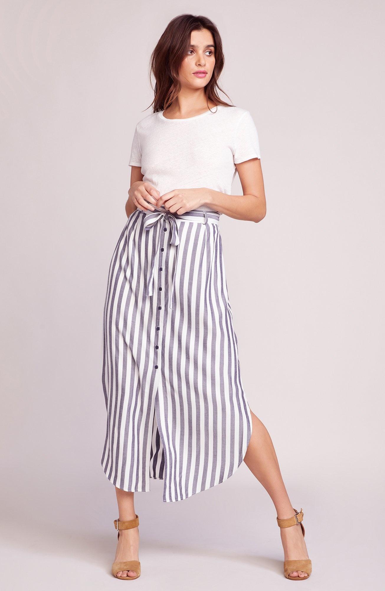 BB Dakota Stripe I Like Skirt
