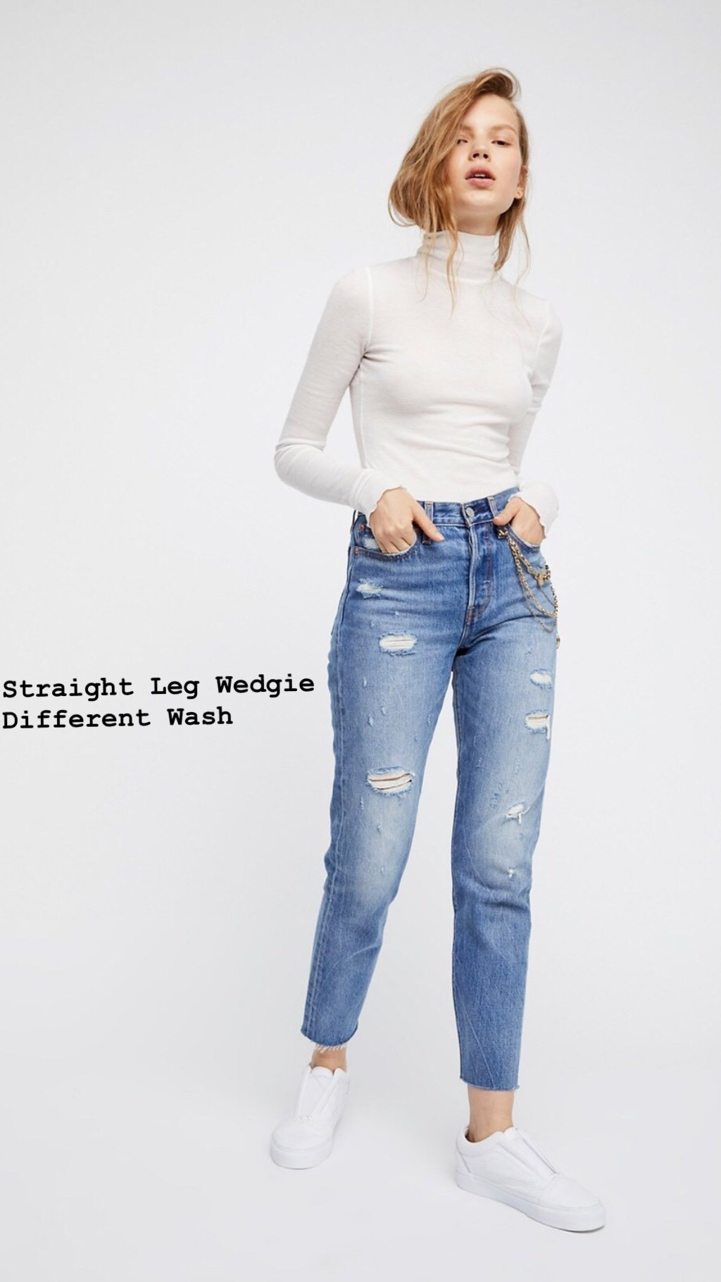 Levi's Levi's High Waist Wedgie Straight Leg
