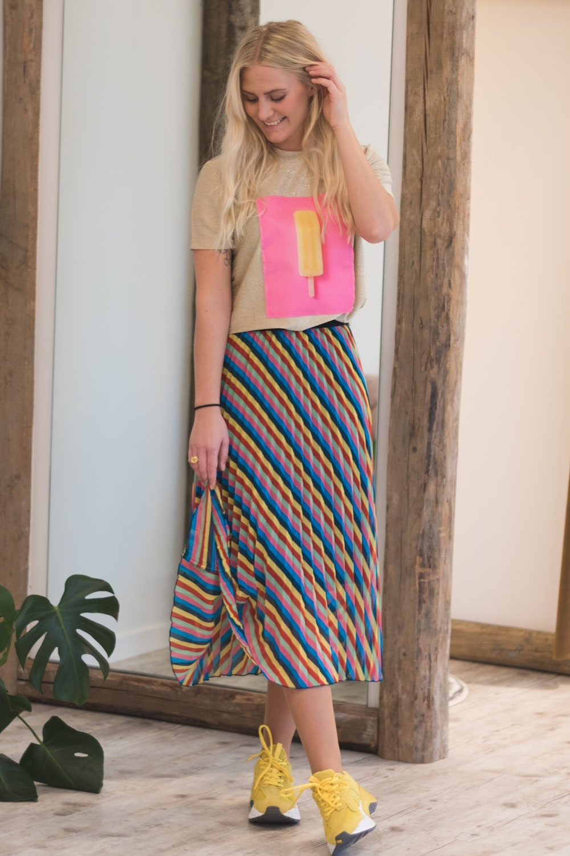 Soaked In Luxury Priscilla Skirt