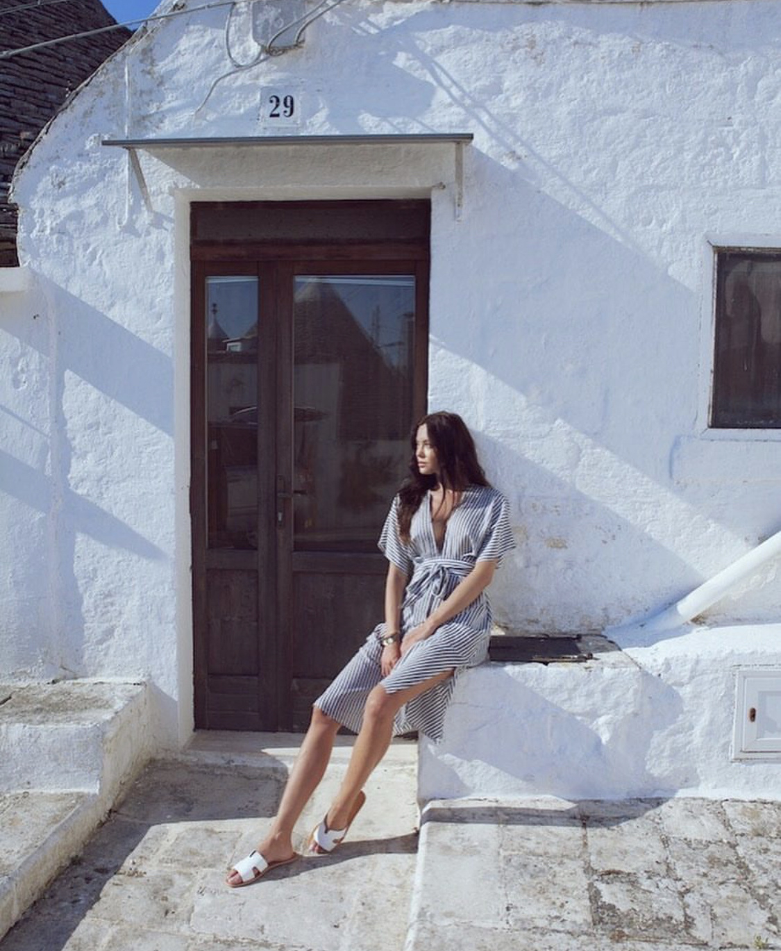 Elan Midi Length Dress