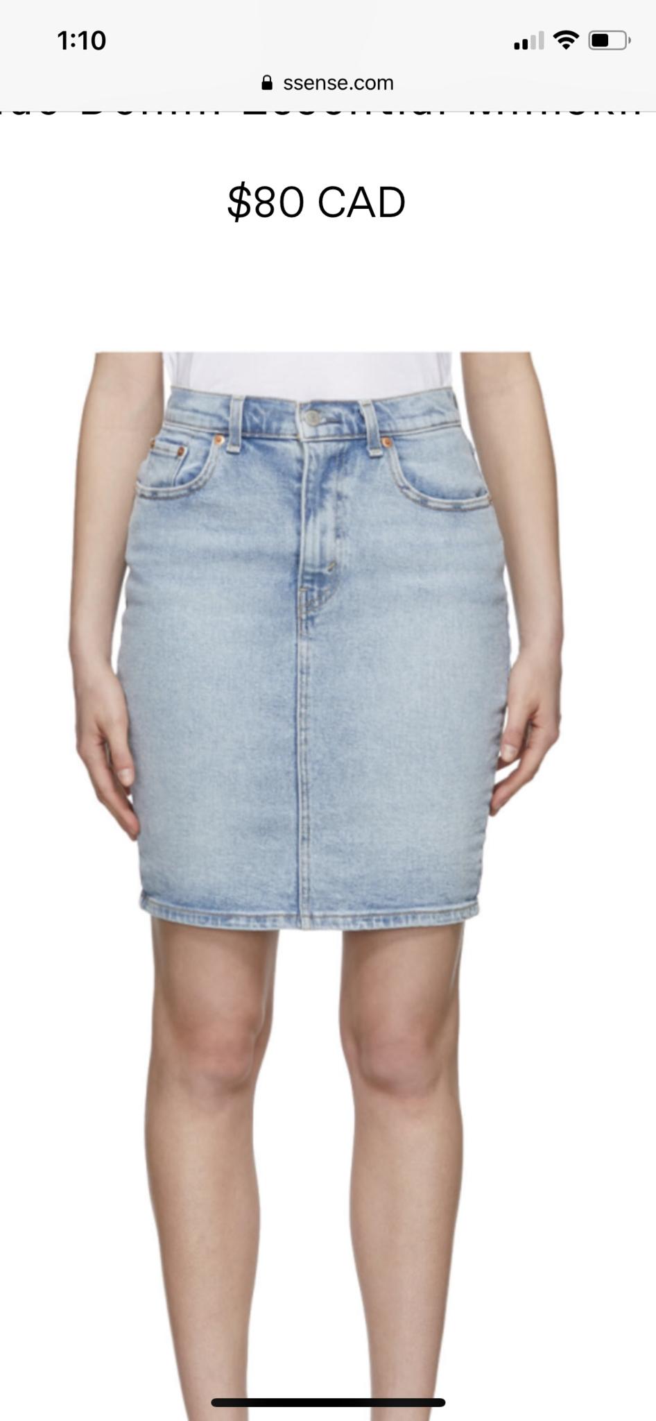 Levi's Essential Mini Skirt