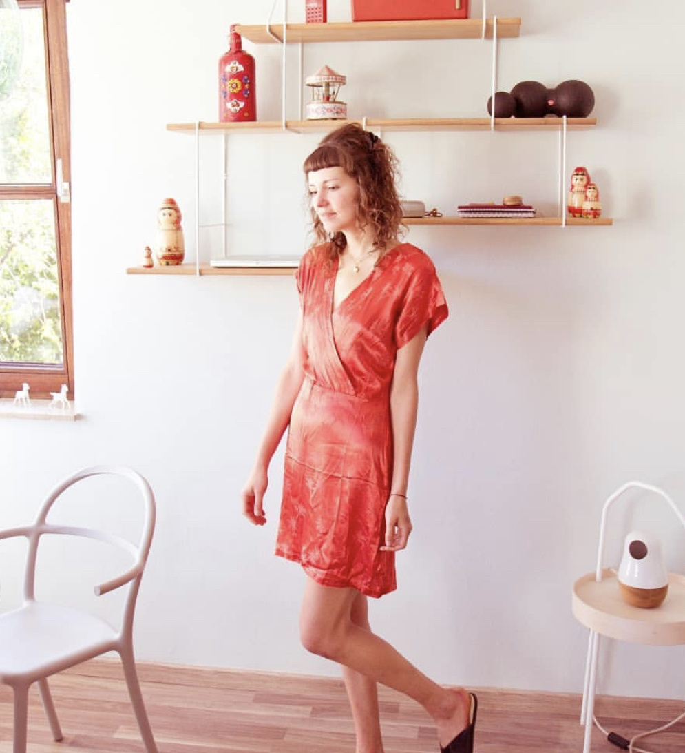 Pepa Loves Paradise Print Dress