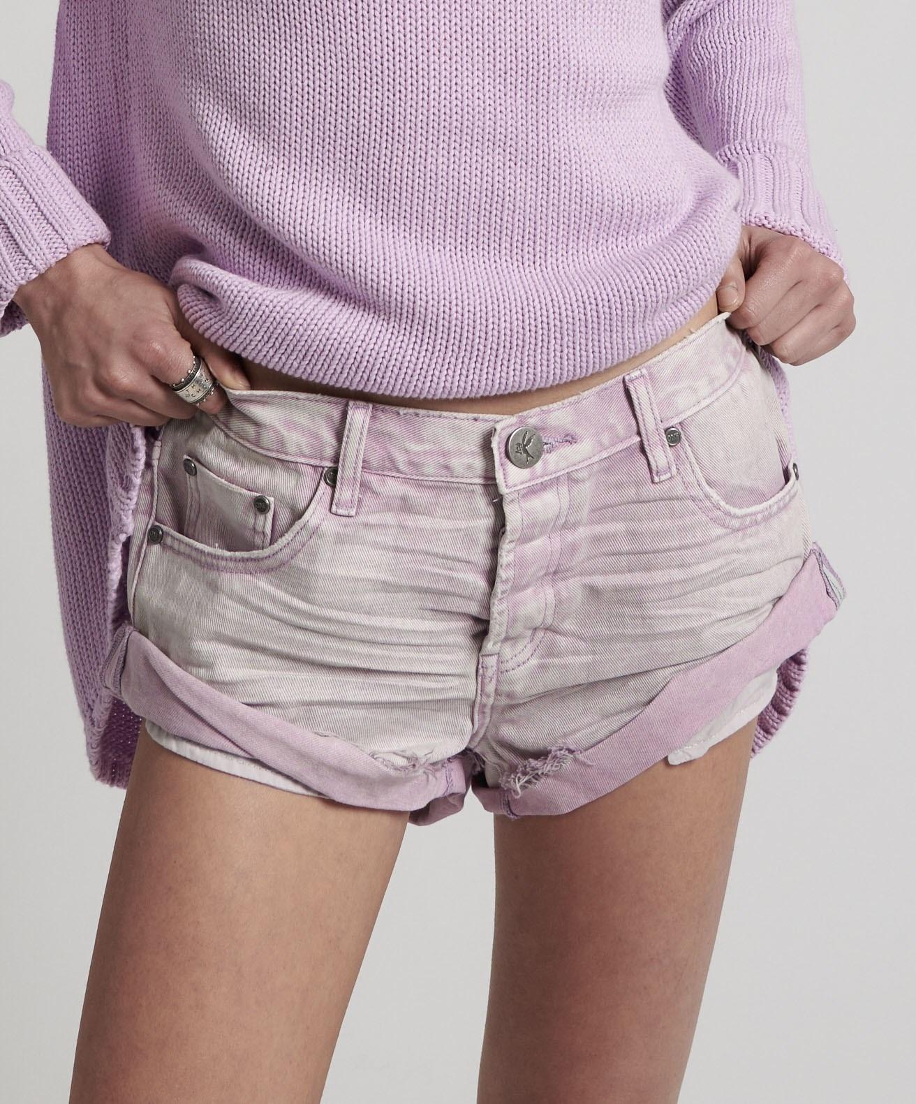 One Teaspoon Bandits Denim Shorts