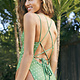 Mink Pink Agave Strappy One Piece