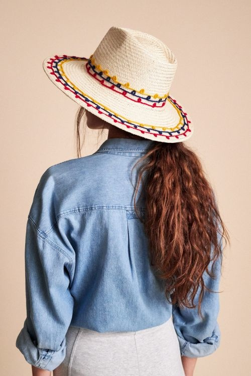 Brixton Joanna Embroidered Hat