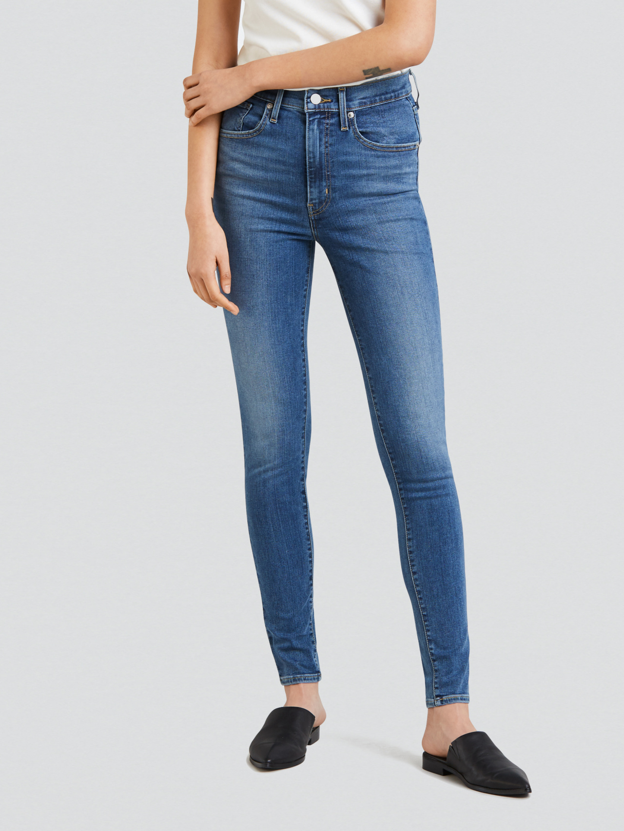 Levi's Indigo Lounge Mile High Sculpt Jeans