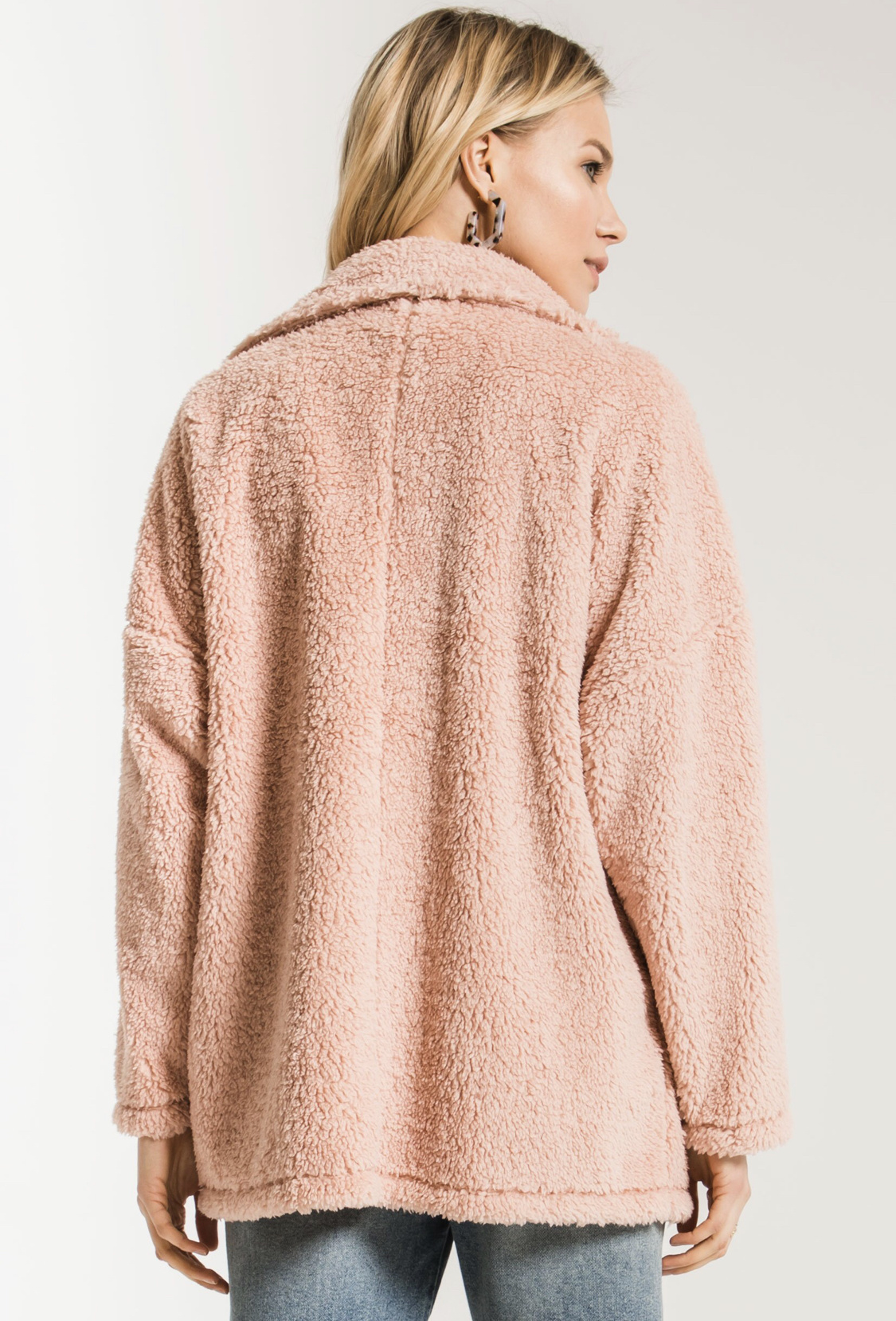 Z Supply Plush Teddy Coat