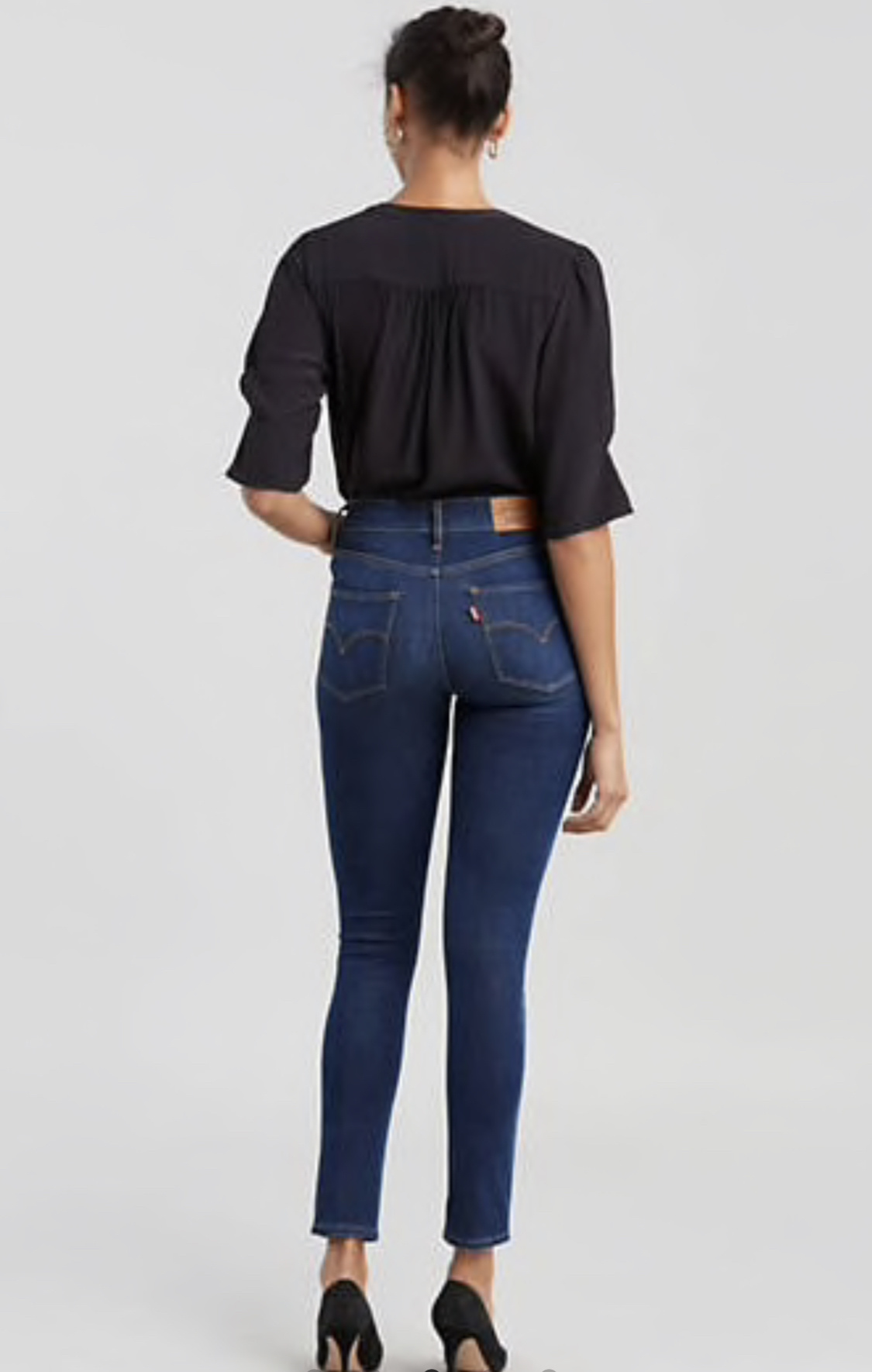 Levi's Up For Grabs 721 High Rise Jean