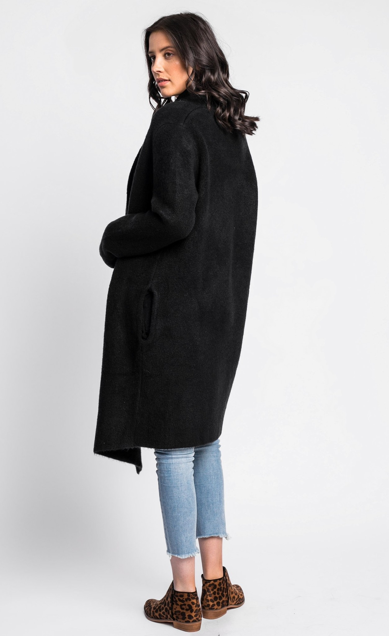 Pink Martini Stockport Coat - BLACK