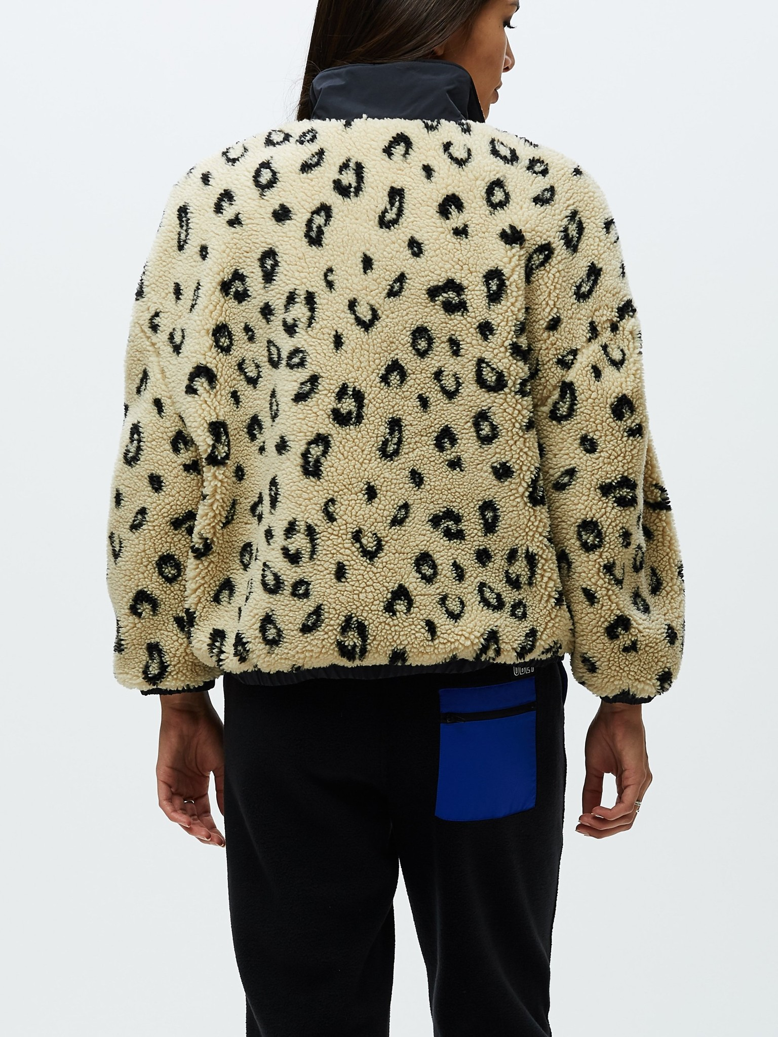 OBEY Leopard Chillier Anorak