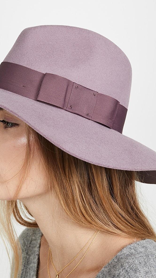 Brixton Mauve Piper Hat