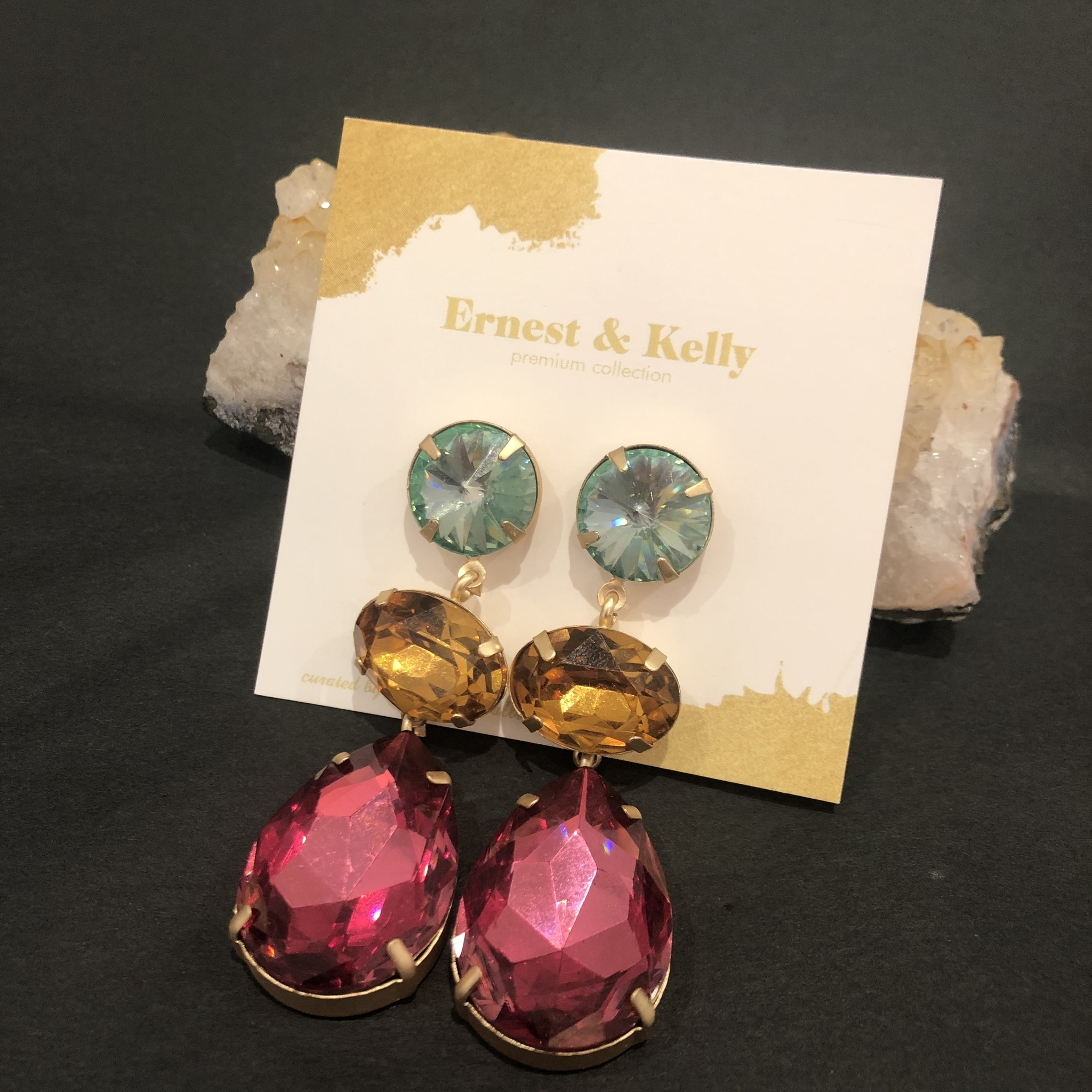 Ernest & Kelly Lizzo Jewel Earrings