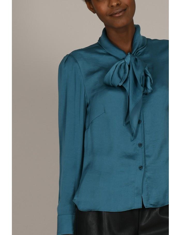 Molly Bracken Tie Front Blouse