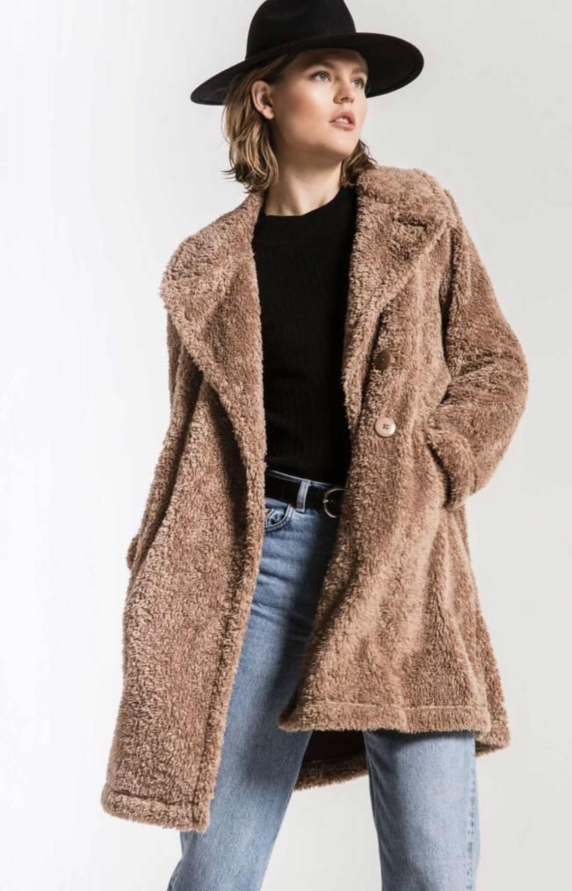 Z Supply Teddy Trench Coat
