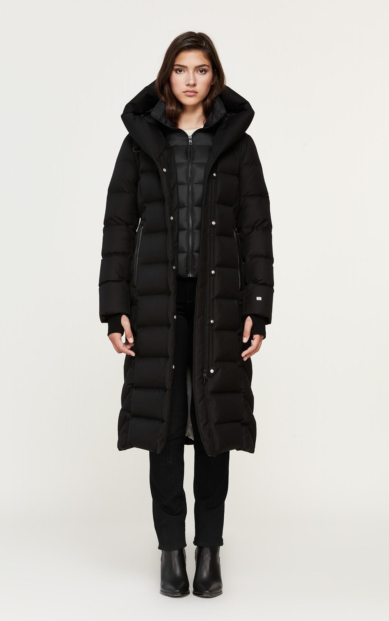 Soia & Kyo Talyse Maxi Length Down Coat