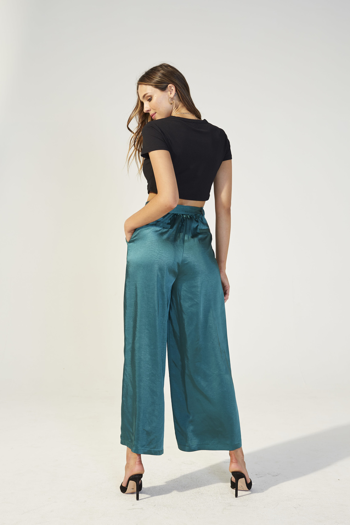 Mink Pink Freedom Lover Satin Pant