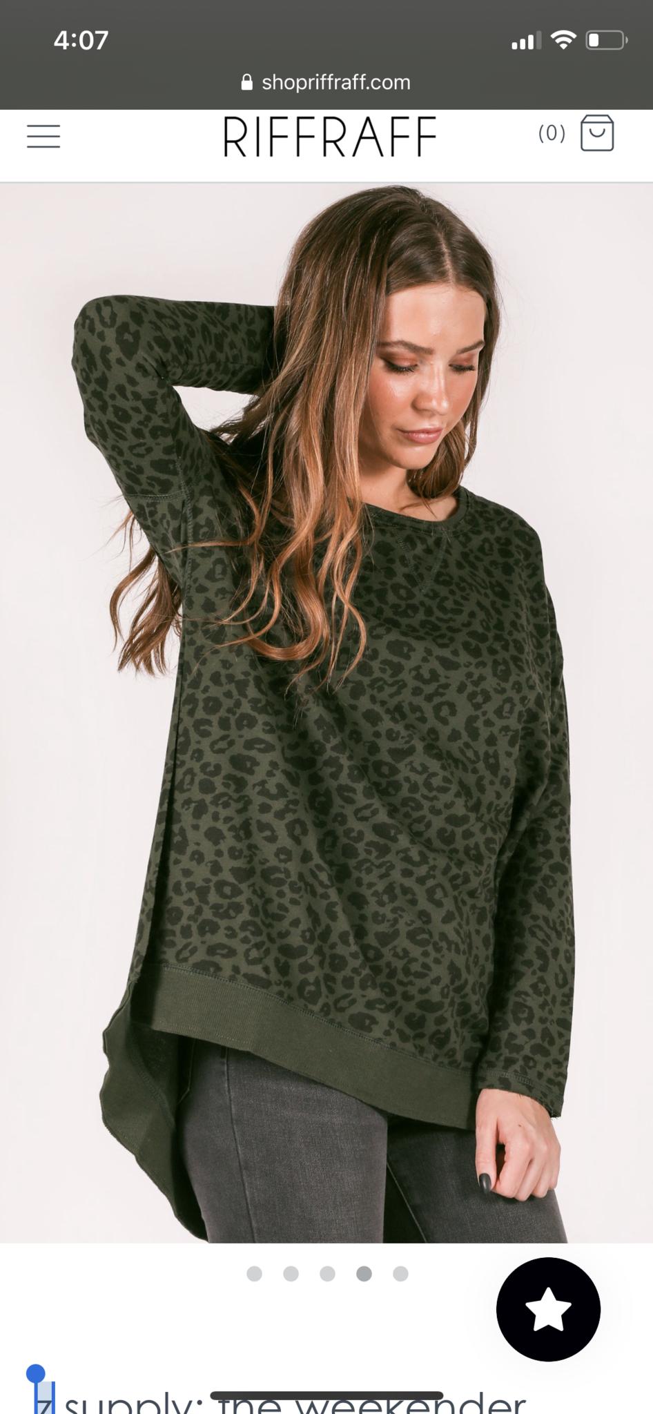 Z Supply The Rosin Leopard Weekender