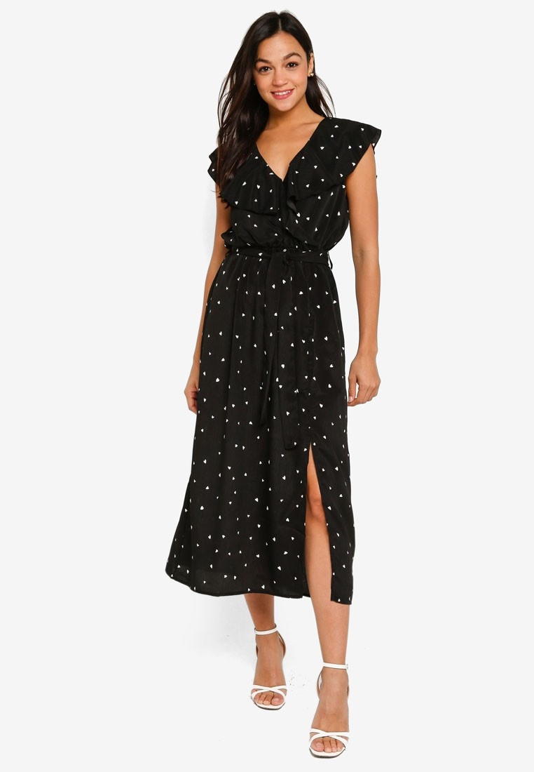 Mink Pink Me And You Midi Dress