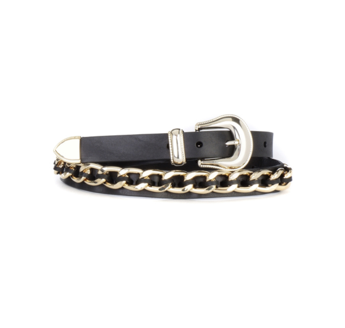 Brave Leather Elke Chain Belt