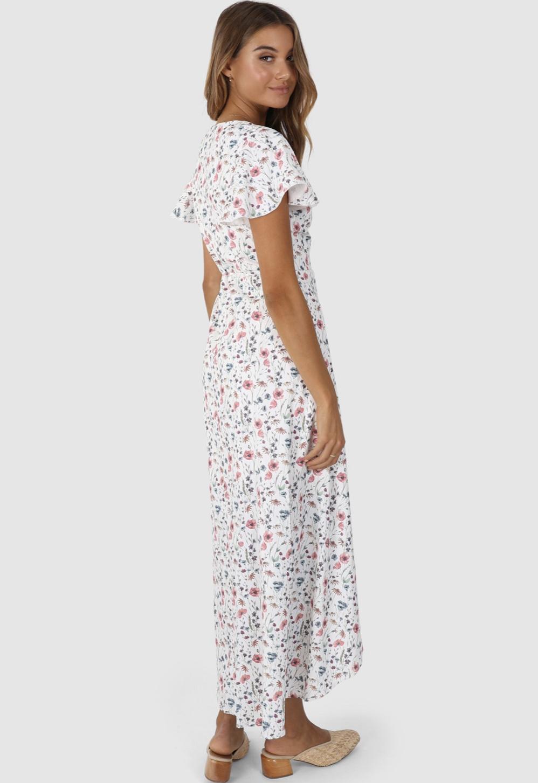 Lost In Lunar Alaina Wrap Dress