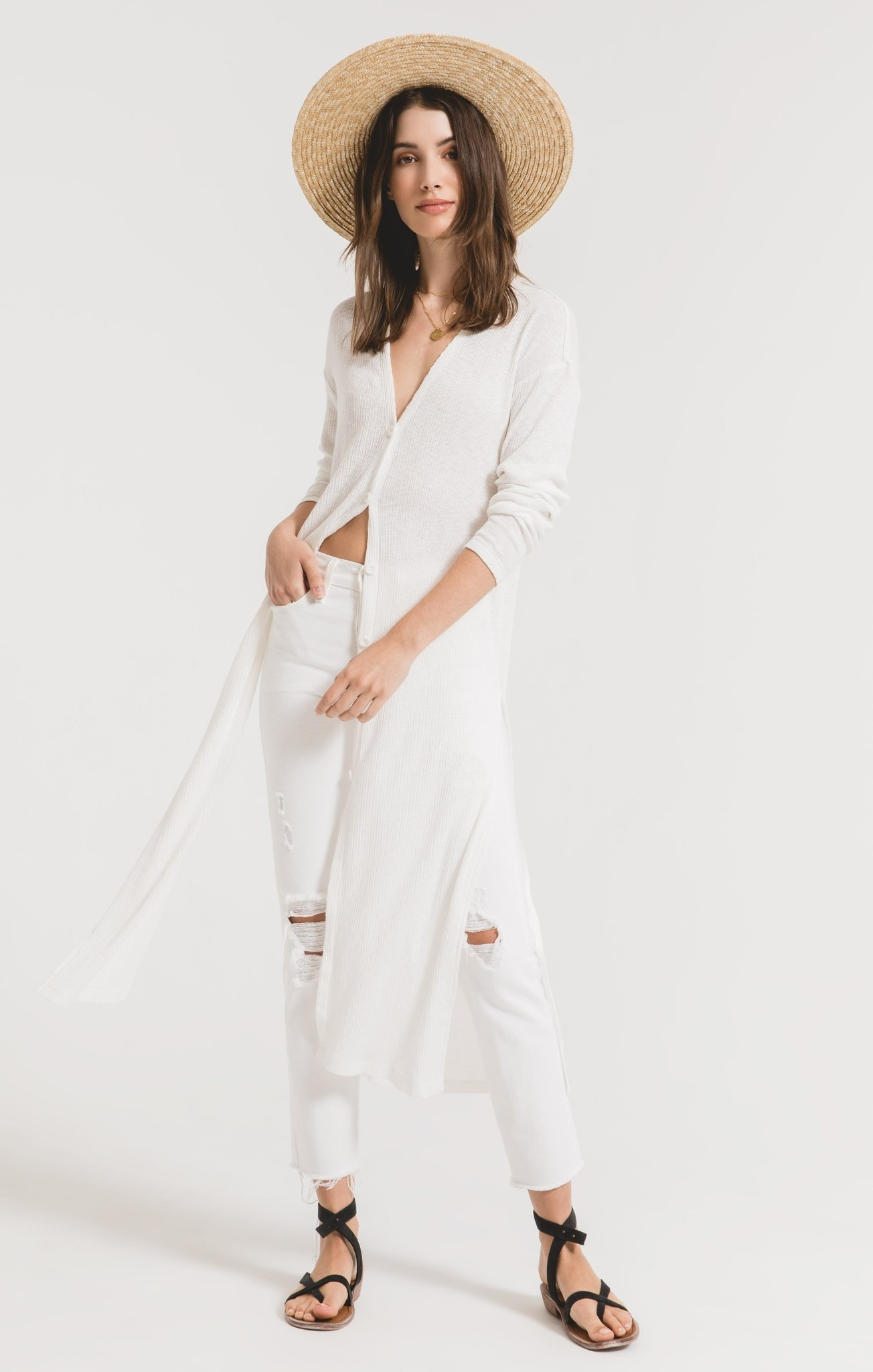 Z Supply The Textured Rib Duster