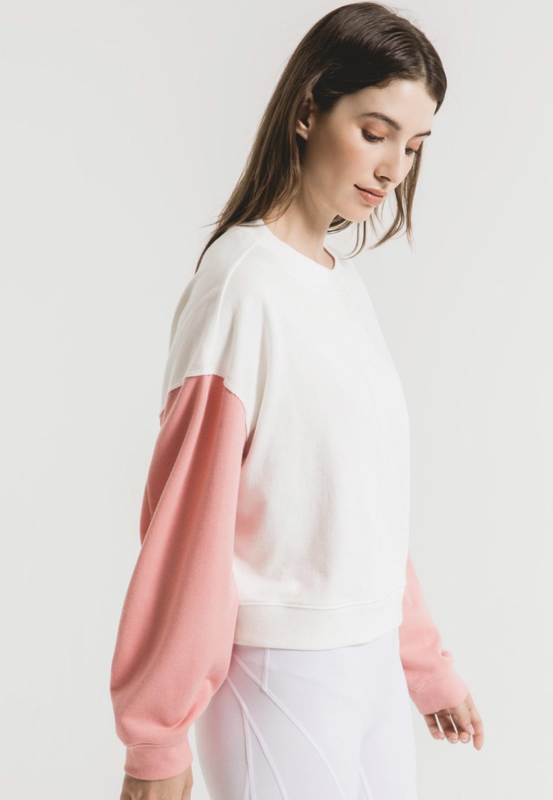 Z Supply The Color Block Sweatshirt