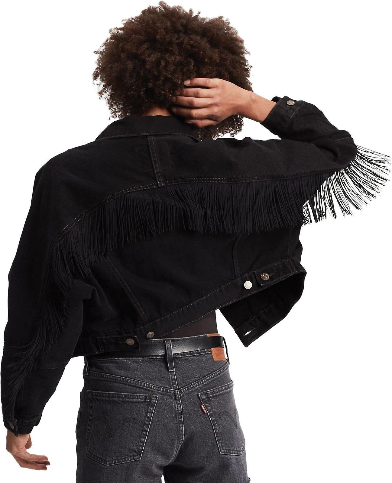 Levi's Fringe Trucker Denim Jacket