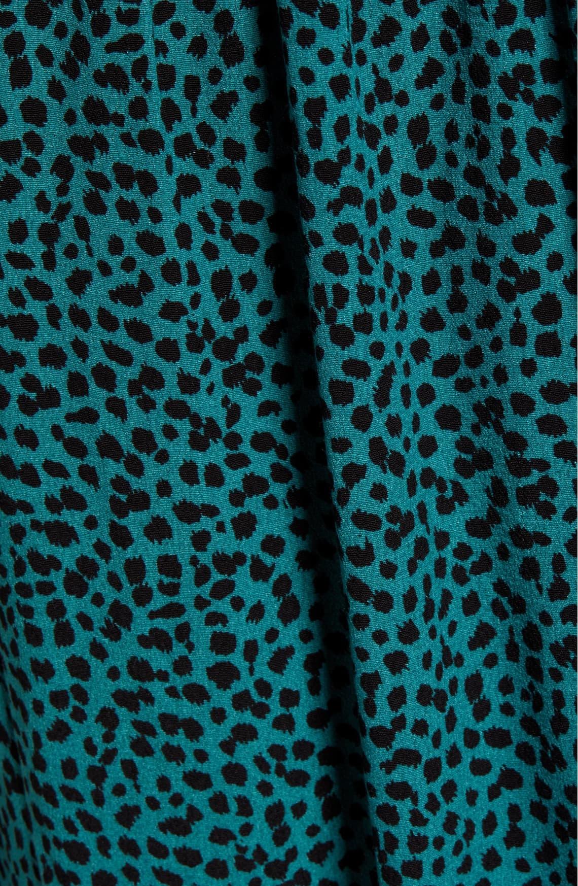 Mink Pink Eyes Wide Midi Wrap Dress