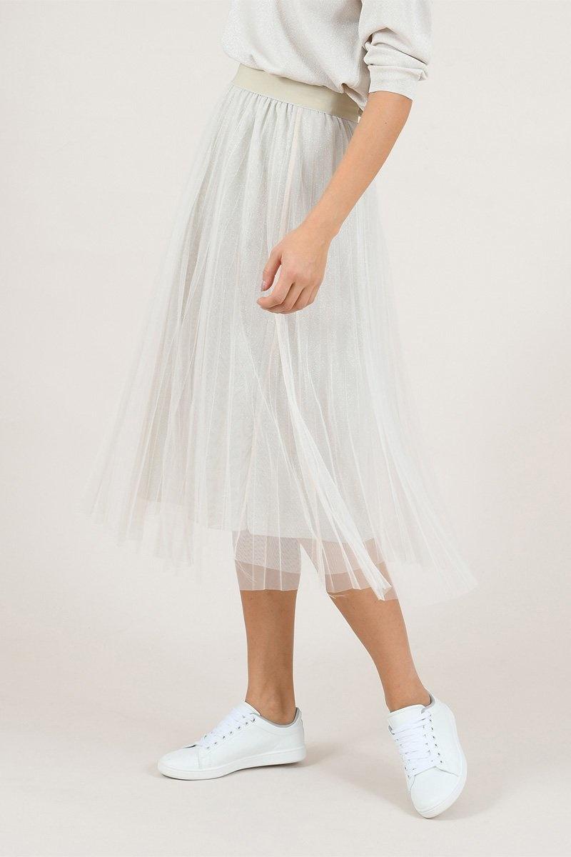 Molly Bracken Sandy Tulle Skirt