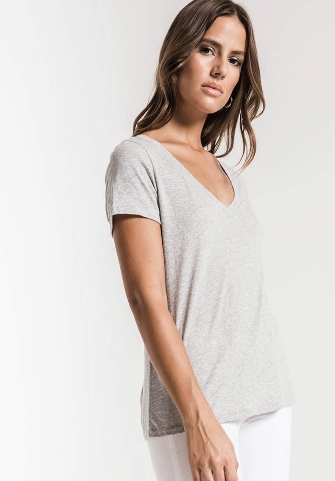 Z Supply The Core V Neck Tee