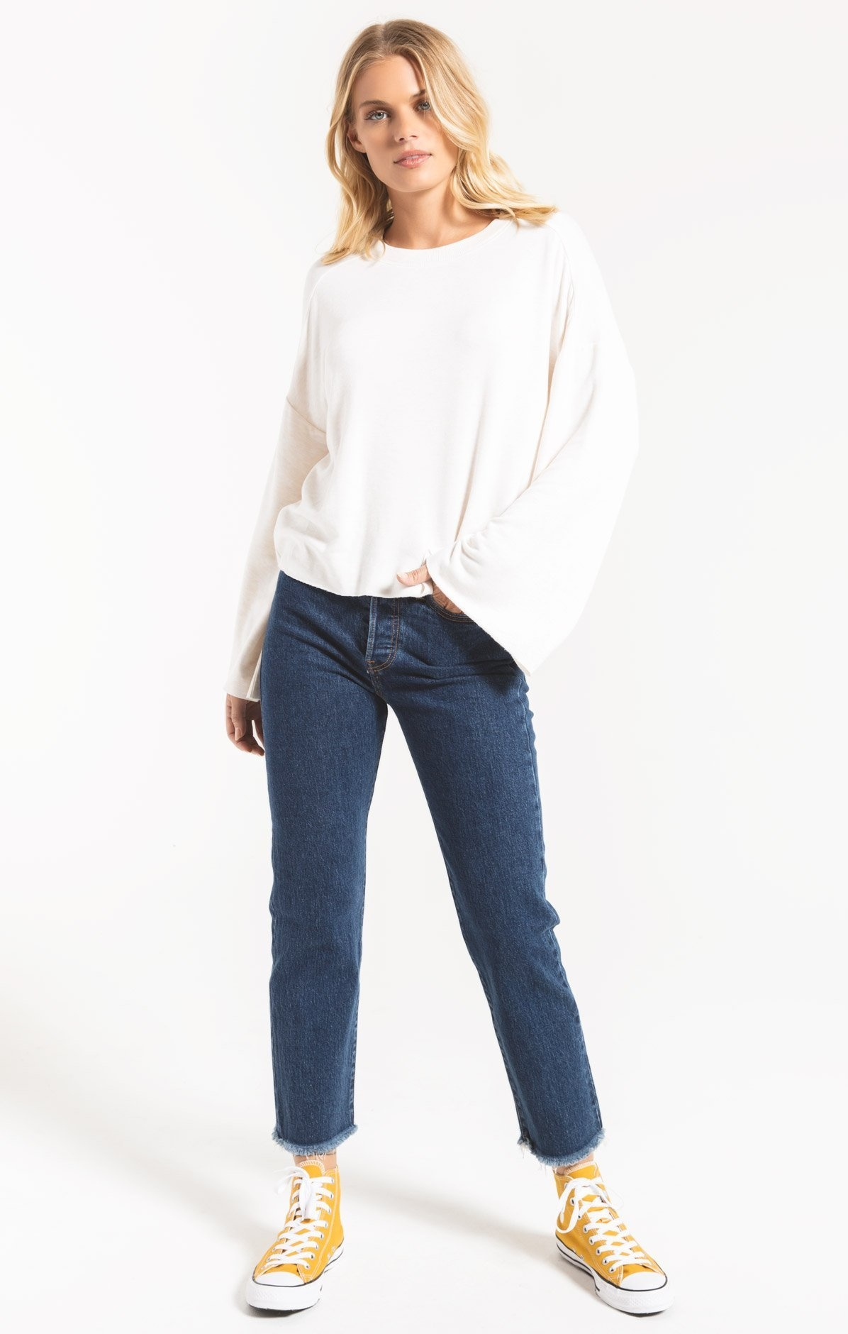 Z Supply Flare Sleeve Top