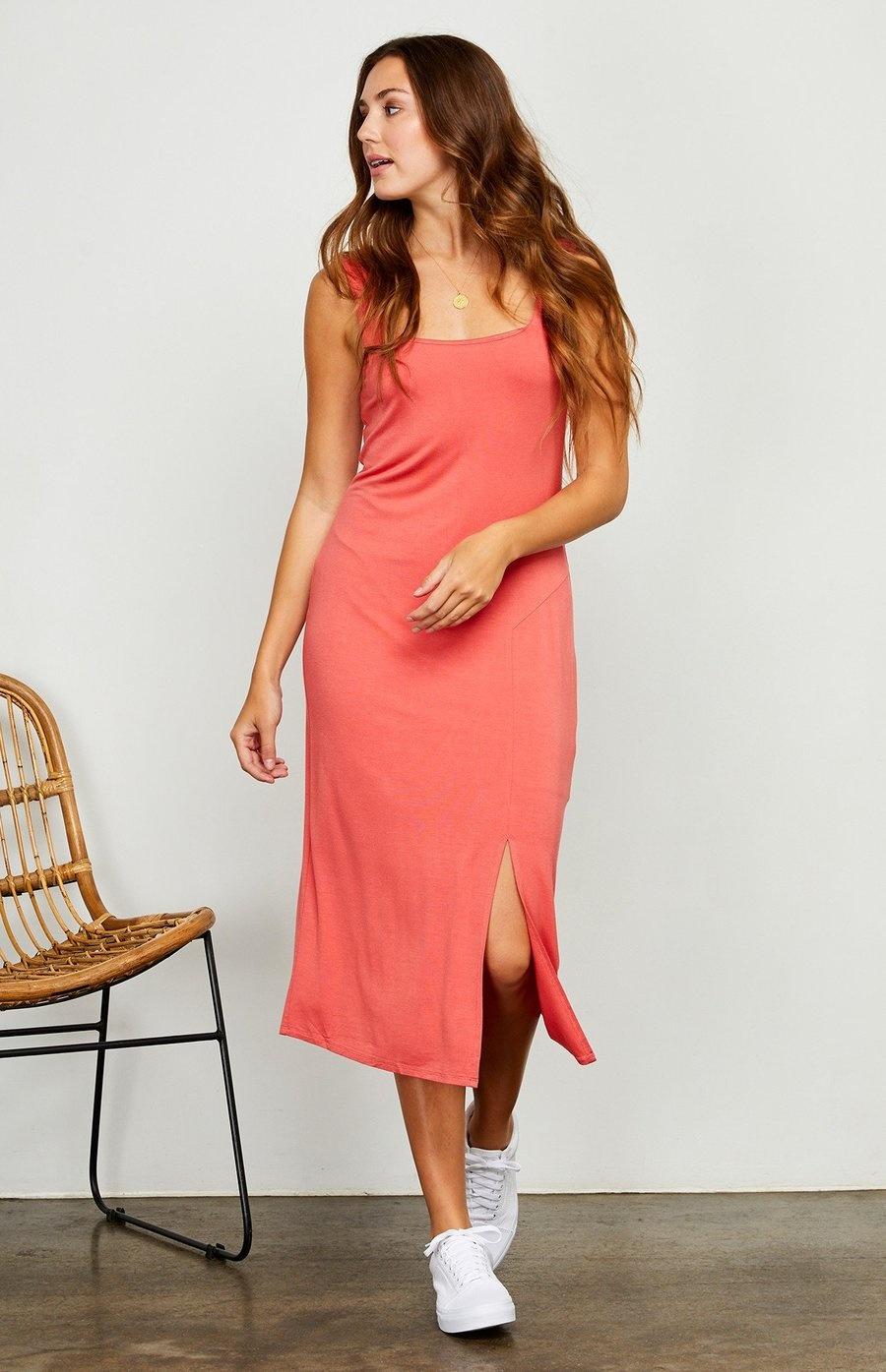Gentlefawn Avril Dress - Coral