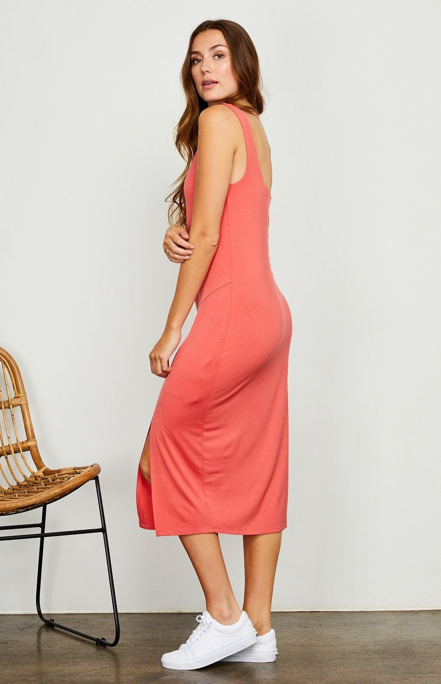 Gentlefawn Avril Dress - Coral