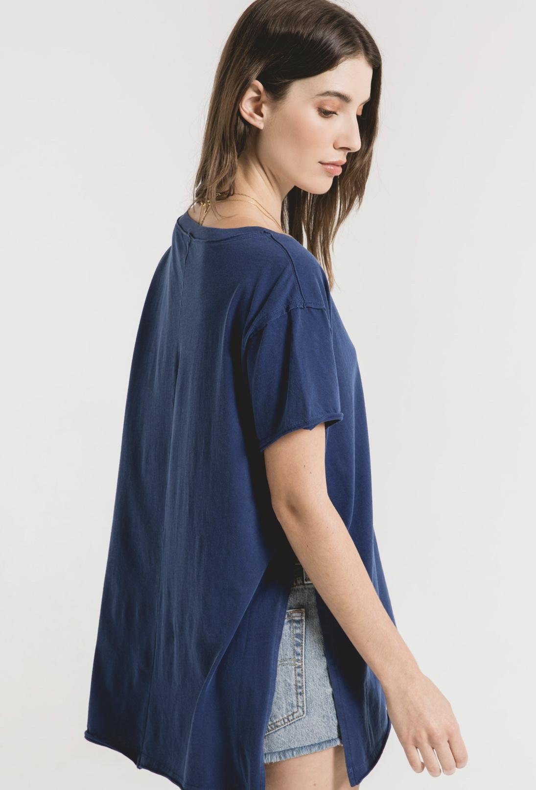 Z Supply Organic Cotton Side Slit Tunic
