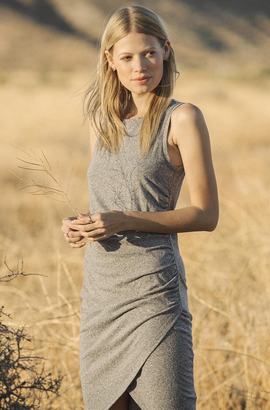 Z Supply Tri Blend Tulip Dress