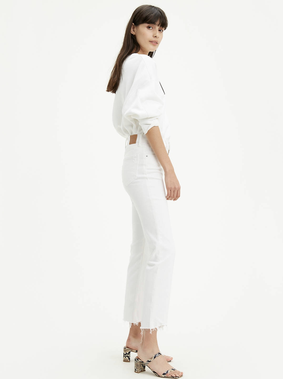 Levi's 724 High Rise Crop - Won Me Over