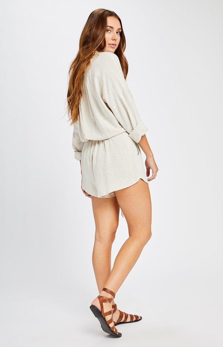 Gentlefawn Nevada Romper Natural