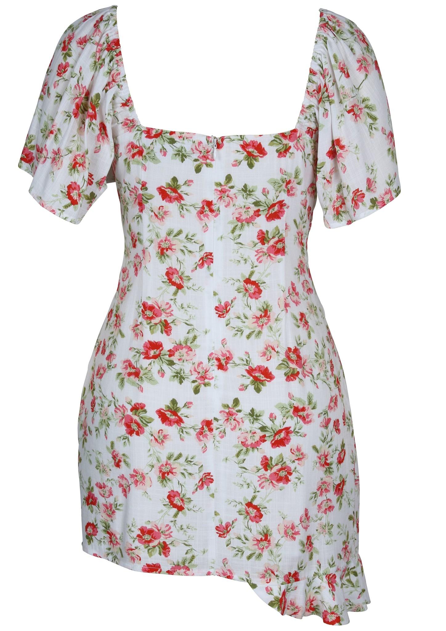 Mink Pink Uncharted Heart Mini Dress