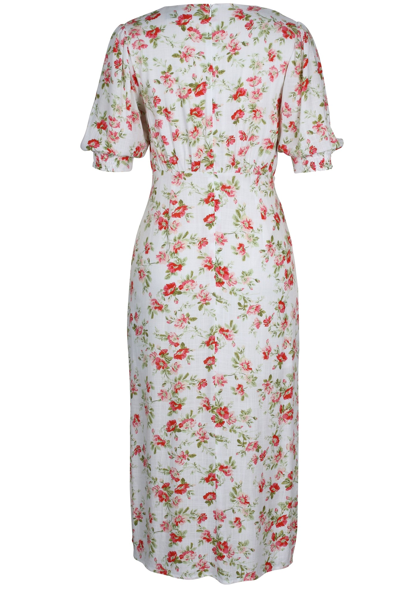 Mink Pink Uncharted Heart Midi Dress