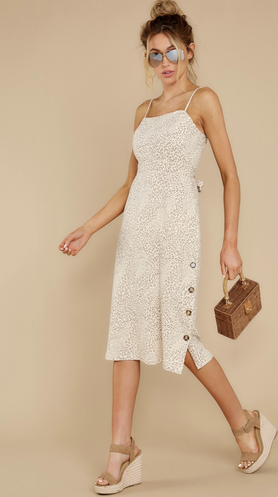 Mink Pink Halsey Midi Dress