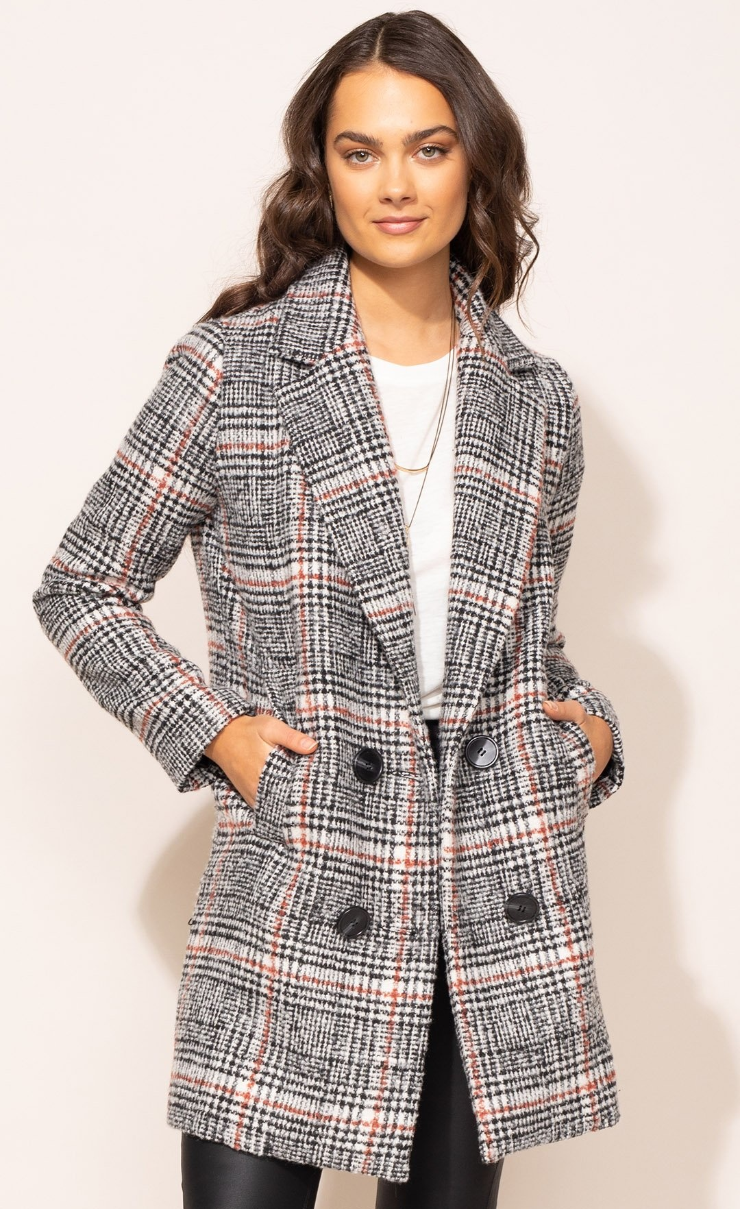 Pink Martini Siena Coat - Black