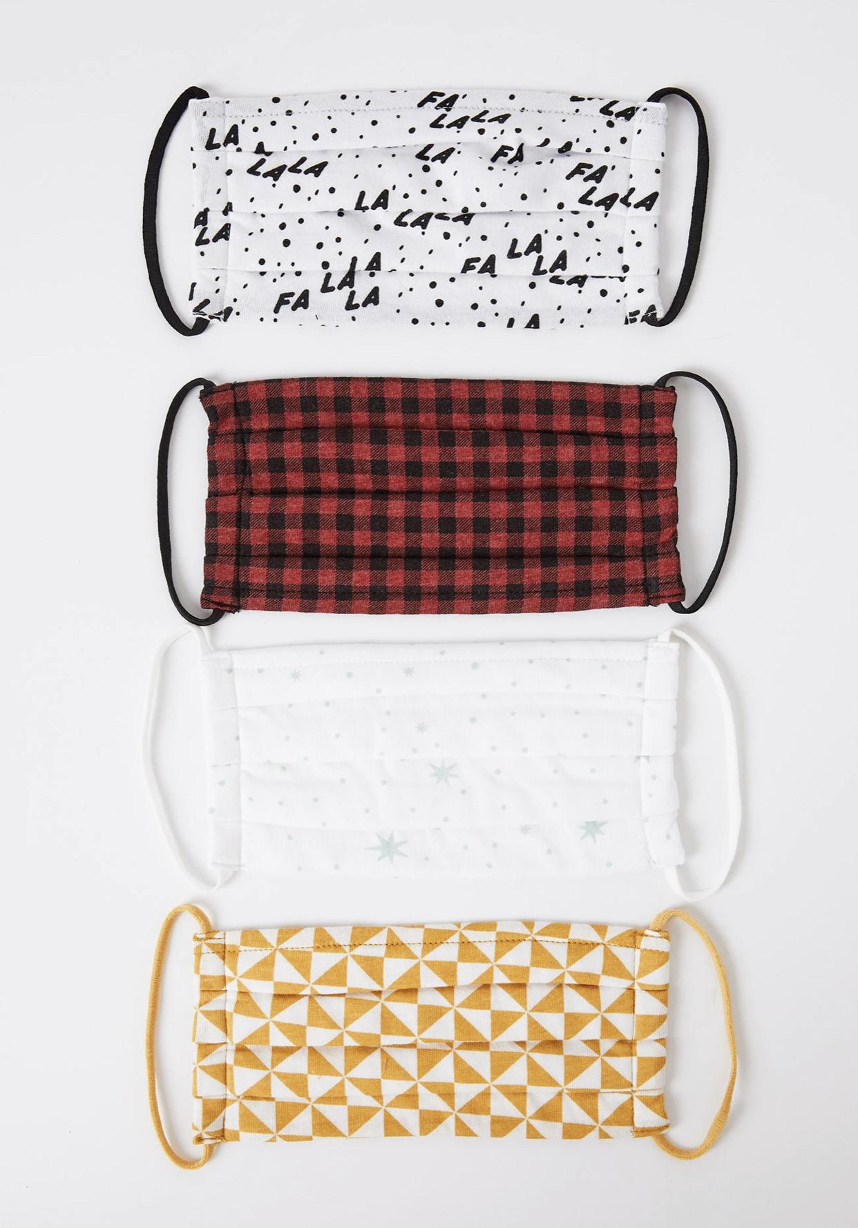 Z Supply Holiday Mask Pack Set (4)