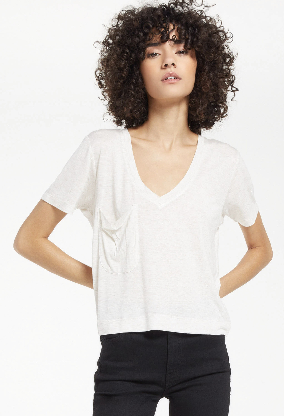 Z Supply Classic Skimmer Sparkle Tee
