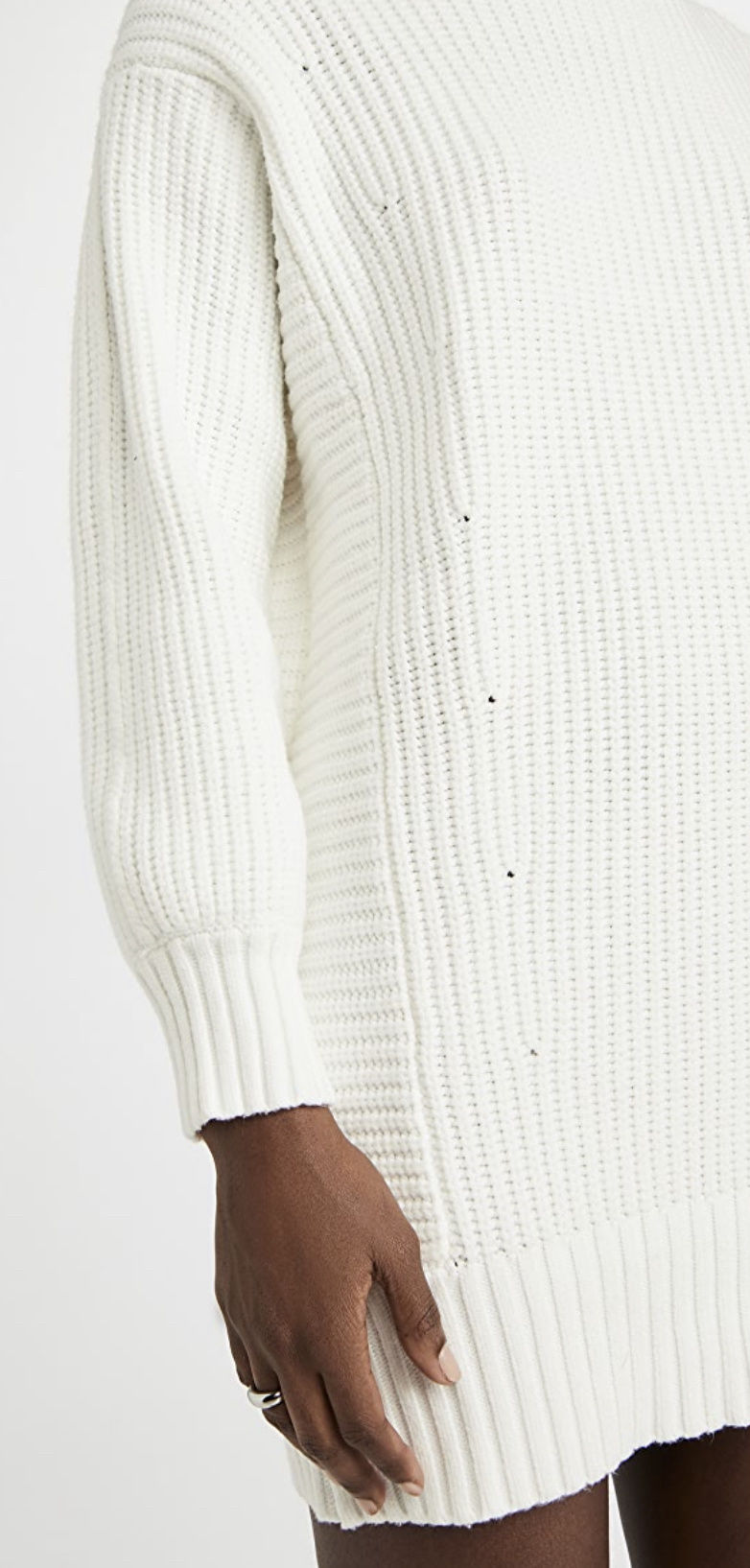 Mink Pink Echoes Knit Sweater Dress